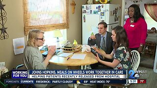 Together in care: Johns Hopkins, Meals on Wheels team up to help patients