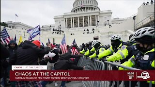 Officials secure Capitol nearly four hours after pro-Trump rioters storm building