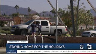 Latino leaders ask community to stay home during holidays