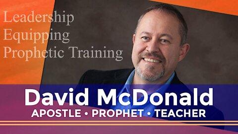 David McDonald Powerful Prophetic Anointing on Breath of Heaven with Janine Horak
