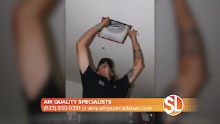 Air Quality Specialists can clean the air you breathe