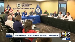 McSally hosts discussion on surge of migrants
