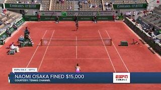 Naomi Osaka fined $15K for skipping French Open media interviews