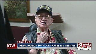 Pearl Harbor survivor shares his message