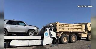 Fatal crash involving Carvana truck in Las Vegas