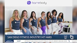 San Diego fitness industry hit hard