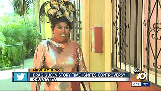 Drag queen story time ignites controversy