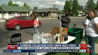 Curbside collection food drive