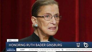 Honoring Ruth Bader Ginsburg