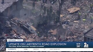Update on Labyrinth Road explosion