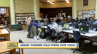 Library workers hold strike vote today