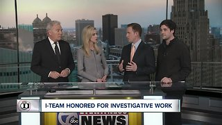 I-Team wins IRE award for Buffalo Diocese coverage