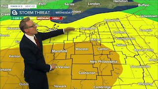 6pm weather update from Mark Johnson