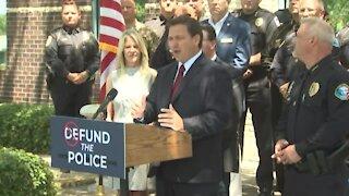 Gov. Ron DeSantis announces $1,000 bonuses for first responders