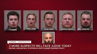 2 more suspects in Whitmer kidnapping plot facing judge Wednesday