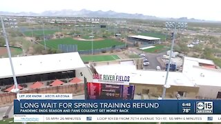 Long wait for Spring Training ticket refund after games were canceled