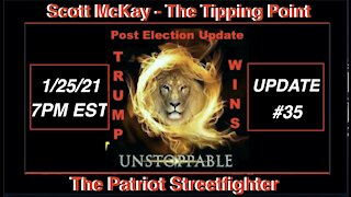 1.25.21 Patriot Streetfighter POST ELECTION UPDATE #35: Military In Control