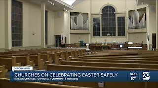 Churches on celebrating Easter safely