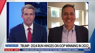GREITENS: 'PRESIDENT TRUMP IS HERE TO STAY'