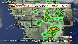 FORECAST: Warm & humid Friday with a few showers