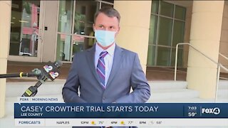Casey Crowther jury trial begins