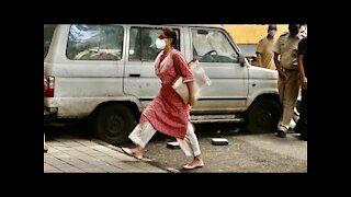 Sara Ali Khan Reaches NCB Office For Interrogation   SpotboyE