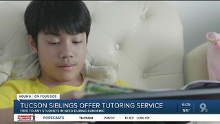 Tucson siblings expand tutoring service during coronavirus pandemic
