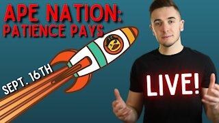 Ep. 73 Patience Pays || Dumb Money: AMC, GameStop & Crypto
