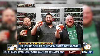 Santee brewery finally opens after years of hurdles