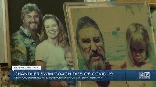Chandler swim coach dies of COVID-19