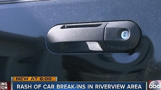 Thieves find unique way to break into woman's SUV