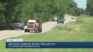 VIDEO: Broken Arrow holds meeting on road projects