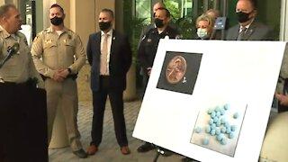 Las Vegas police discuss dangers of fentanyl