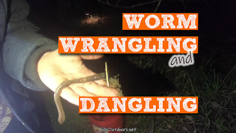 S2:E13 Worm Wrangling and Dangling | Kids Outdoors