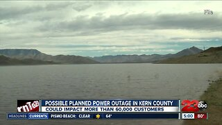 Possible planned power outage in Kern County