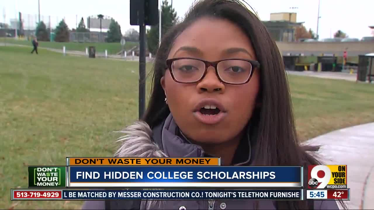 Don't Waste Your Money: Finding hidden college scholarships