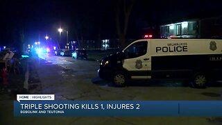 1 dead, 2 injured in Milwaukee shooting