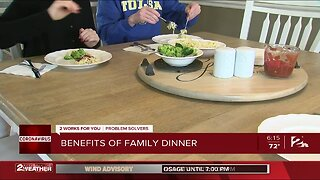 Families Share Dinner Together Again Amid Outbreak