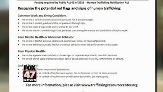 Jackson working to prevent human trafficking