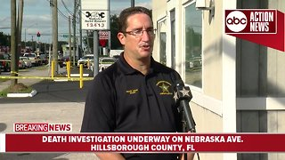 Death investigation in Hillsborough County