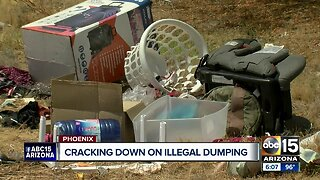 Cracking down on illegal dumping