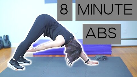 At Home Ab Workout (Under 10 Mins)