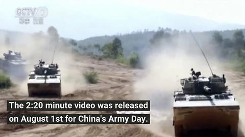 China's New Army Propaganda Video Has Gone Viral
