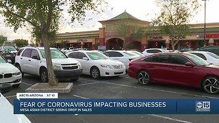 Coronavirus fears impacting businesses in Mesa's Asian District