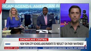 NEW YORK CITY SCHOOL ASKS PARENTS TO 'REFLECT' ON THEIR 'WHITENESS