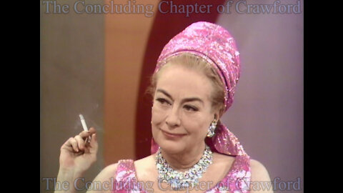 Joan Crawford 1970 Television Interview