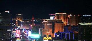 Las Vegas landmarks light up in honor of Black History Month