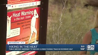 Phoenix Fire Union wants to close hiking trails in excessive heat