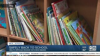State health officials release data benchmarks for reopening schools