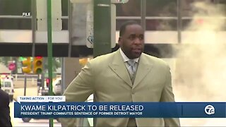 Kwame Kilpatrick to be released
